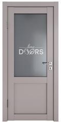 Дверь межкомнатная DO-OPTIMA1 Серый бархат