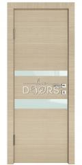 ШИ дверь DO-612 Неаполь/стекло Белое