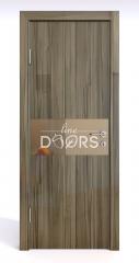 Дверь межкомнатная DO-501 Сосна глянец/зеркало Бронза