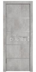 ШИ дверь DG-605 Бетон светлый