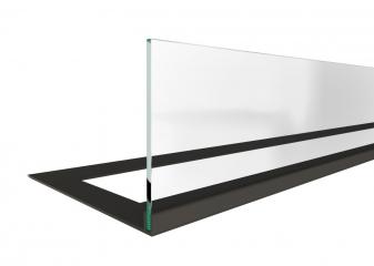 Стекло декоративное для биокамина серии Standart 800 для встраивания в портал