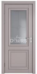 Дверь межкомнатная DO-DEKANTO Серый бархат