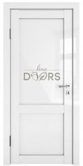 Дверь межкомнатная DG-OPTIMA Белый глянец