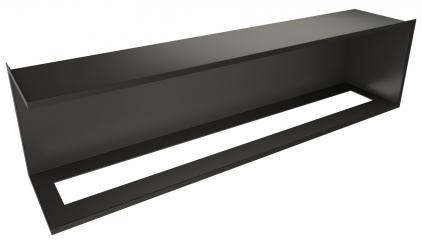 Встраиваемый угловой очаг ZeFire Standart 1500