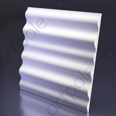 Гипсовая 3D панель WAVE 600x600x41 мм