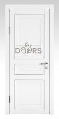 Дверь межкомнатная DG-PG3 Белый бархат