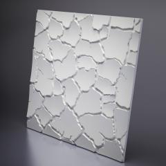 Гипсовая 3D панель SAHARA 600x600x20 мм