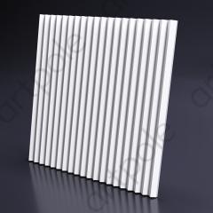 Гипсовая 3D панель ZIGZAG 600x600x27 мм