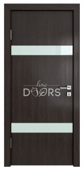 Дверь межкомнатная TL-DO-502 Акация/стекло Белое