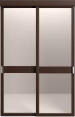 Sofia Модель со стеклом и филенкой (06)